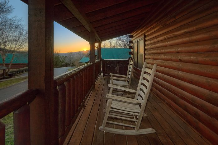 Views from Deck - A Smoky Mountain Experience