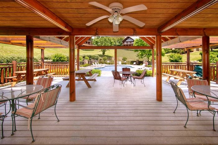 Cabin with pool access and clubhouse area - A Smoky Mountain Experience