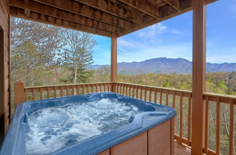 5 Bedroom Gatlinburg Cabin with Views - A Spectacular View to Remember