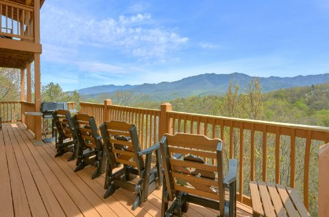 Luxurious Gatlinburg Cabin with Mountain Views - A Spectacular View to Remember
