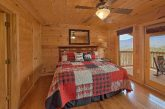 Premium Cabin with fireplace in Master Bedroom
