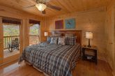 Cabin with Mountain Views from Master Bedroom