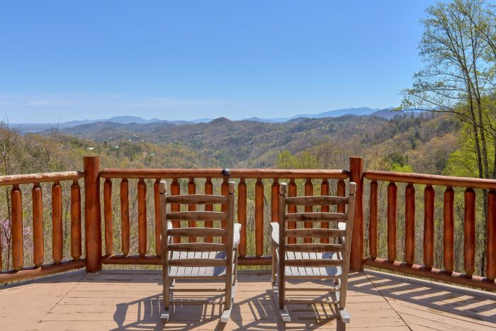 A Stunning View Cabin Rental Photo