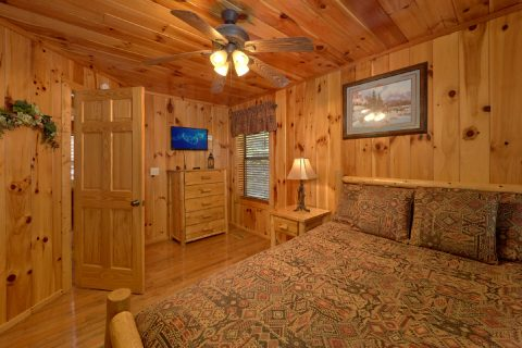 3 bedroom cabin with private queen bedroom - A Tennessee Delight