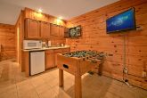 Cabin with foosball Table and Mini Kitchen