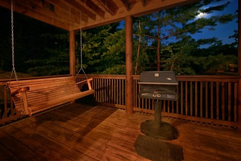2 Bedroom Cabin with Grill and Pool Access - A Tennessee Twilight