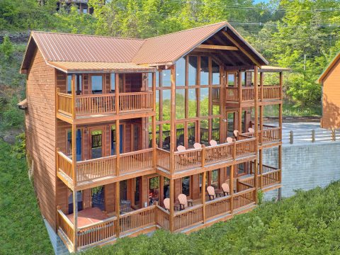 "Gatlinburg Cabin With A View | ""A View From Above"""