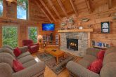 Secluded 2 Bedroom Cabin with Fireplace and TV