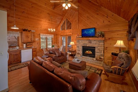 1 Bedroom Cabin Near Sevierville - Aah Rocky Top
