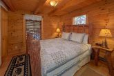 1 Bedroom Cabin with King Bed and TV