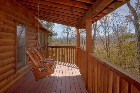 1 Bedroom Cabin with Porch Swing - Aah Rocky Top