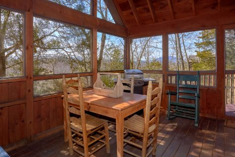 1 Bedroom Cabin with Screened in Porch and Grill - Aah Rocky Top