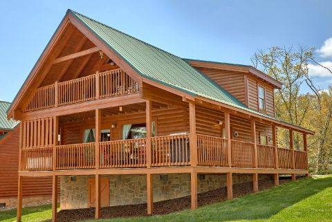 Luxury cabin in Blackberry Ridge Resort - Absolute Delight