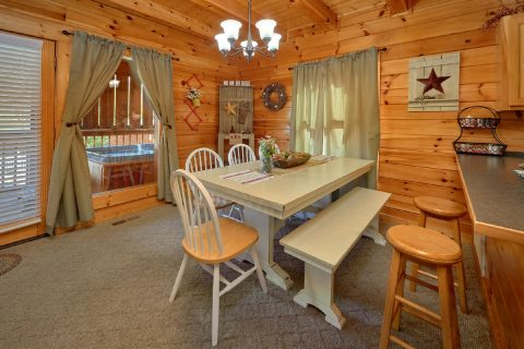 Luxury Cabin with Dining room for 6 - Absolute Delight