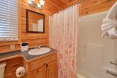 Master Bedroom with Bath in 2 bedroom cabin