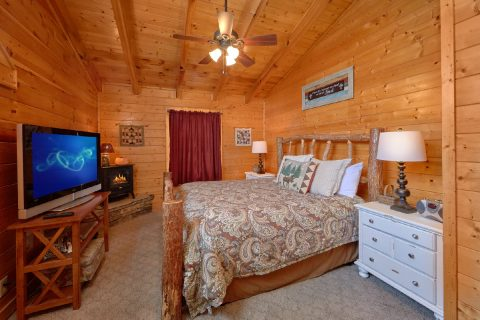 Resort Cabin with 2 Master Suites - Absolute Delight