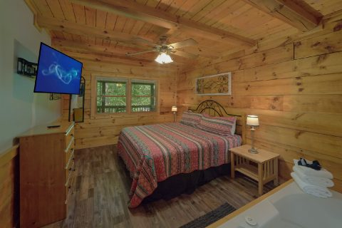 2 Bedroom Cabin Near Pigeon Forge with King Bed - Absolute Heaven