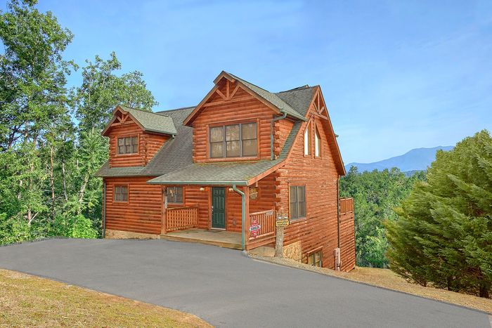 Cabin in the Smoky Mountains - Absolutely Viewtiful