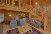 Spacious 4 bedroom cabin with fireplace