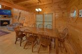 4 bedroom cabin with large Dining Room