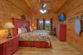 Master bedroom with King Bed and Mountain View