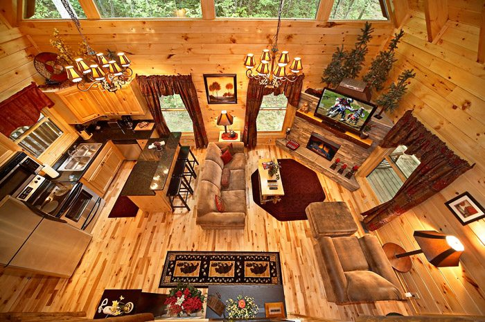 Gatlinburg Cabin with Open Floor Plan - Adler's Ridge