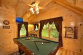 Game Room in Loft of Cabin