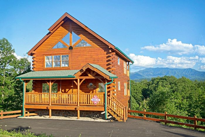Premium cabin in pigeon forge 3 bedroom adventure lodge - 4 bedroom cabins in gatlinburg tn ...