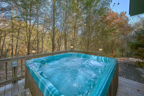 Private Hot Tub Gatlinburg Cabin Sleeps 18 - Adventure Lodge Gatlinburg