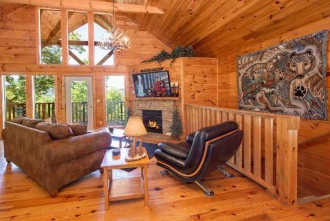 Luxury 1 Bedroom Cabin with Flatscreen TV - Ah-Mazing