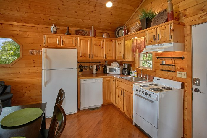 Luxury 1 Bedroom Cabin with Full Kitchen - Ain't No Mountain High Enough