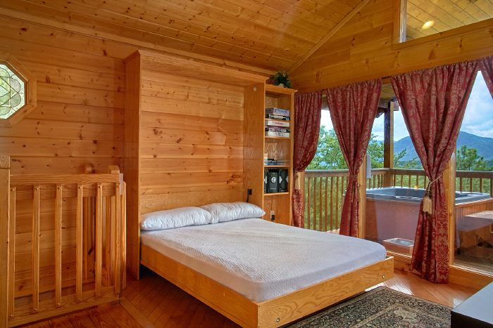1 Bedroom Cabin with Full Size extra Bed - Ain't No Mountain High Enough