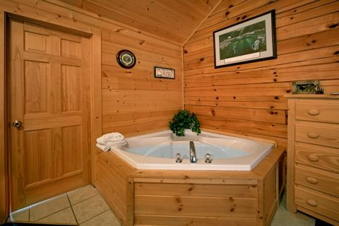 Eagles Ridge 7 Bedroom Cabin with 2 Jacuzzi Tubs - Alexander the Great