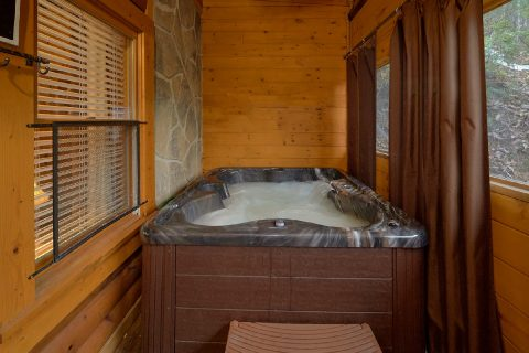 Private Hot Tub 1 Bedroom Cabin - All About Us