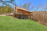 Rustic 1 bedroom cabin with wooded view
