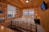 Private King bedroom in 1 bedroom cabin