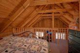 King Bedroom loft in 1 bedroom cabin