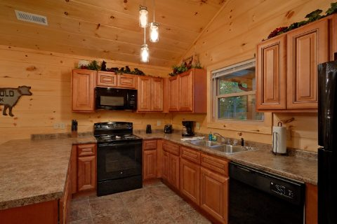 3 Bedroom Cabin with Fully Equipped Kitchen - Almost Paradise