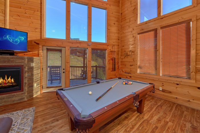 Pool Table Game Room - Almost There