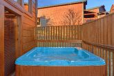 Hot Tub Off the Back Deck