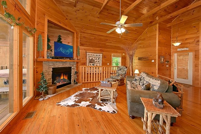 Luxurious Cabin with a Spacious Living Room - Alone at Last