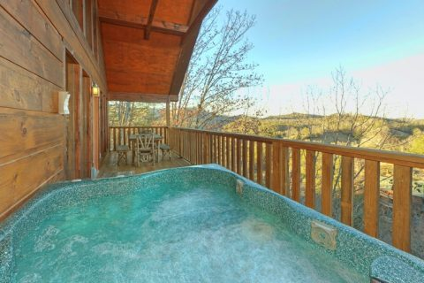 Smoky Mountain Cabin with Cozy Hot Tub - Alone at Last