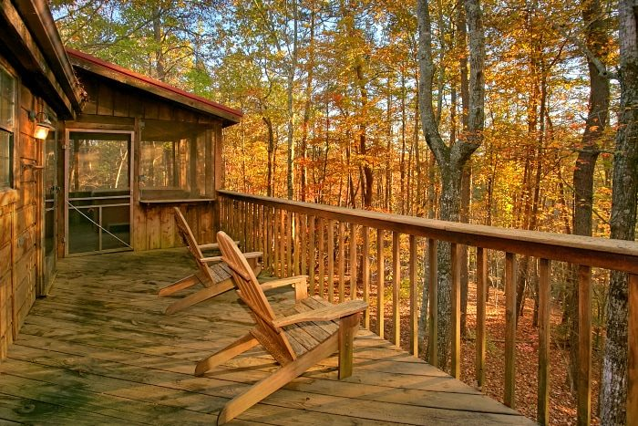 Wears Valley 2 Bedroom Cabin with Wooded View - Alpine Retreat