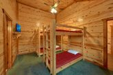 Twin Bunkbeds with Flatscreen TV