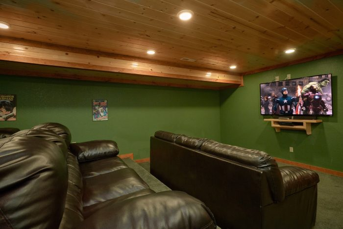 6 Bedroom Cabin with Theatre Room - Amazing Grace