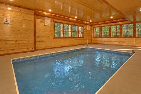 6 Bedroom Cabin with Private Pool Sleeps 16 - Amazing Grace