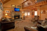 Secluded Cabin with Fireplace and Sleeper Sofa