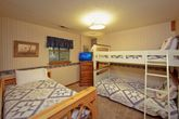 Cabin with Twin Bunk Beds
