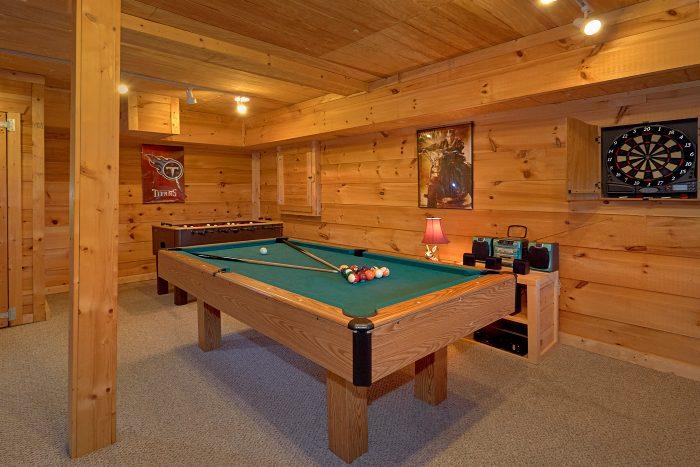 1 Bedroom Cabin Sleeps 6 with Pool Table - Amazing Sunset
