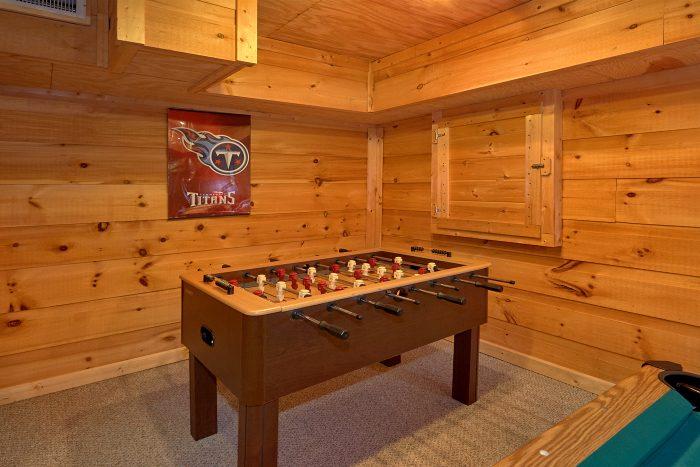 1 Bedroom Cabin Sleeps 6 with Foosball Table - Amazing Sunset